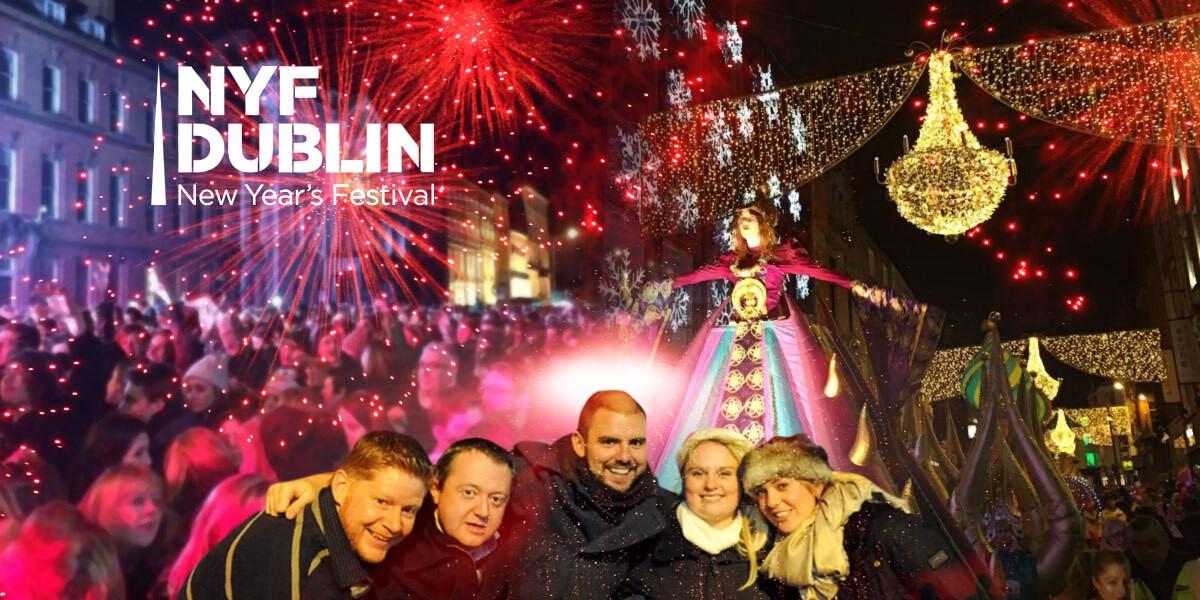 new year festival in Dublin