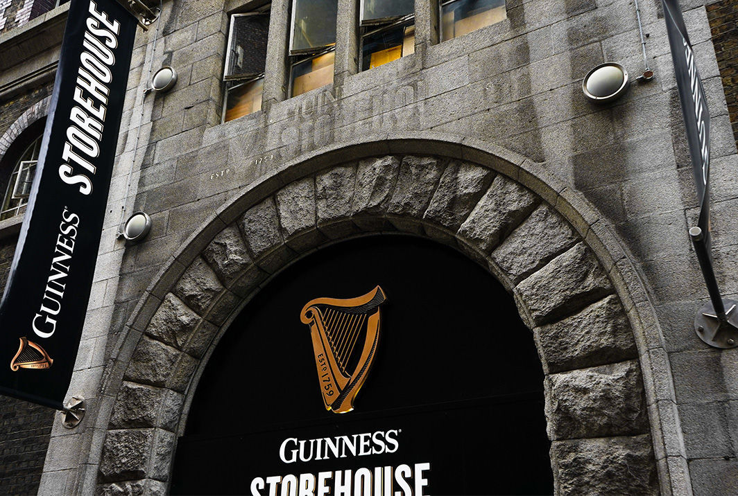 Isaacs Hostel – Dublin - guinness storehouse