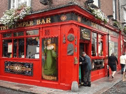 Temple bar pubs recooomended by Isaacs hostels and jacobs inn
