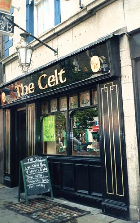 the Celt pub near Isaacs Hostel